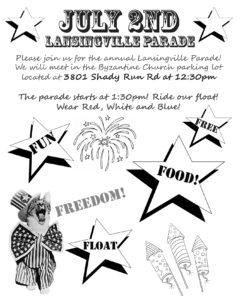 Lansingville Parade July 2017